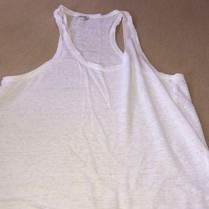 True Religion White Mesh T-Shirt